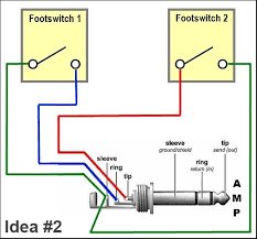 peavey valveking 112 footswitch schematic amp footswitch