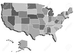 Usa Maps States by The 3d Image Of Usa Map Royalty Free Cliparts Vectors And Stock