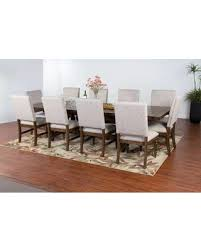 11 dining room set fall into savings on collection 1383acdt10c 11