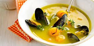 paul bocuse recettes cuisine soupe de moule paul bocuse facile recette sur cuisine actuelle
