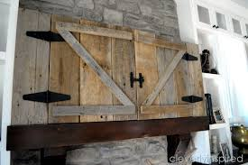 Barn Door Cabinets Interior Barn Doors Tv Small Place Style Living Spaces With