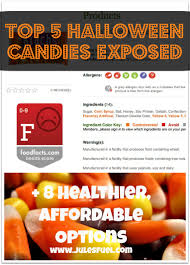 cheap halloween candy halloween candy exposed 8 healthier affordable alternatives