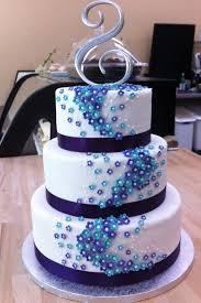purple wedding cakes cake pinterest pictures weddias