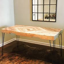 repurposed dining table x post from r somethingimade repurposed pallet wood dining table