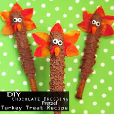 chocolate dressing pretzel turkey treat recipe best thanksgiving
