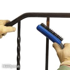 How To Restore Metal Outdoor Furniture by Restore Metal Before Painting Family Handyman