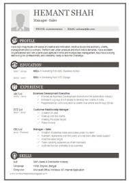 Resume Format Template Word Sample Of Resume Format Sample Resume Templates Word 7 Free