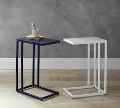 C Side Table C Tables Burke C Table Pottery Barn Rizz Homes