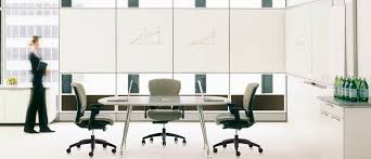 Teknion Conference Table Contemporary Boardroom Table Mdf Laminate Rectangular