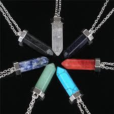 aliexpress crystal necklace images Naruto maxi chakra healing natural quartz stone long crystal jpg