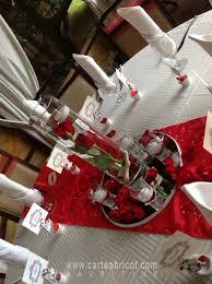 Deco Mariage Blanc Et Rouge by Wonderful Centre De Table Mariage Rouge Et Blanc 10 La Deco De