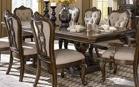 double pedestal dining room table bonaventure park cherry extendable double pedestal dining table