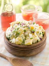 cuisine froide salade froide aux pommes de terre recipe buffet salad and food
