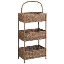 pier 1 home decor collin tiered light brown basket pier 1 imports