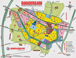 Bahadurgarh Metro Map by Bahadurgarh City Master Plan Sarvodya Realcon Private Limited