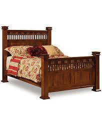 Amish Oak Bedroom Furniture by Sequoyah Bed Amish Direct Furniture