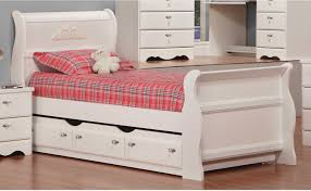 girls bed with trundle kids u0027 beds the brick
