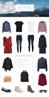 Colorado Travel Style images What to pack for 5 days in colorado in the autumn capsule jpg