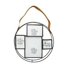 round collage frame with strap kmart bedroom ideas pinterest