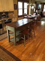 farm table kitchen island 677 best reclaimed barn wood furniture by e braun farm tables