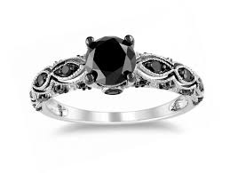 black wedding ring set wedding rings his and hers wedding bands white gold his and hers