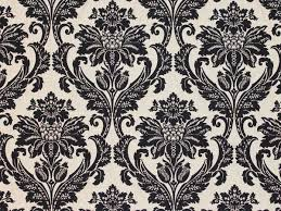 Black And White Striped Upholstery Fabric Jacquard Damask Floral Upholstery Fabric