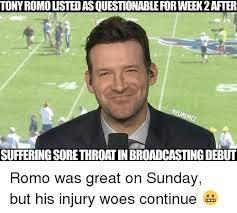 Tony Romo Meme Images - 25 best memes about romos romos memes
