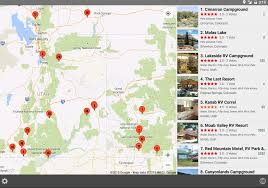 Park County Map Server Rv Parks U0026 Campgrounds Android Apps On Google Play