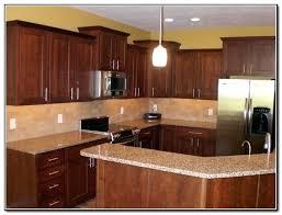 kitchen backsplash cherry cabinets backsplash with cherry cabinets lovable kitchen ideas black