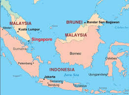 brunei map in world where is singapore located world map asia countries continent