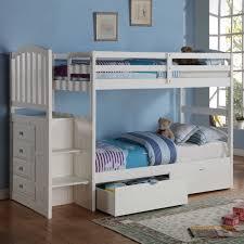 Kids Beds With Storage Underneath Bedroom Donco Kids Bobs Bedroom Sets Twin Bunk Beds With Storage
