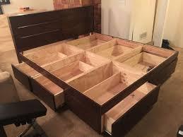 best 25 wood bed frames ideas on pinterest bed frames wood inside