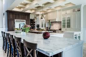 kitchen distinctive styling carrera marble countertops