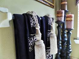 Where To Hang Towels In Small Bathroom Master Bathroom Tuscan Inspired Be My Guest With Denise