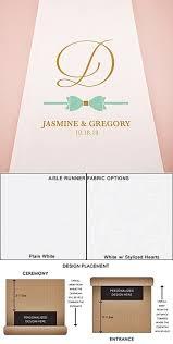 personalized aisle runner weddingstar glitz and glam bowtie motif personalized aisle runner
