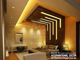 Enhance The Look Of The Room With Unique Ceiling Design Ideas - Living room ceiling design photos