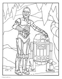 r2d2coloringpages r2d2and3pocoloringpage disneyfamily
