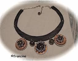 bijoux en chambre a air francine bricole collier perles cerclées sur capsules