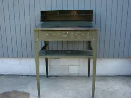 Steel Drafting Table Furniture Antique Price Guide