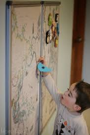Diy World Map by Mom Mart Diy Magnetic World Map Wall Art Project