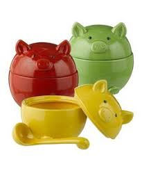 pig kitchen canisters 3 pigs kitchen canister set country kitchen decor canister