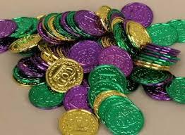 mardi gras deblume doubloons mardi gras doubloons mardi gras coins gold doubloons