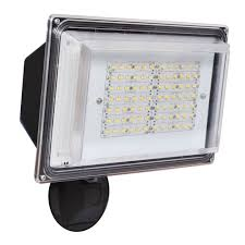 Defiant Degree Outdoor White Led Blade Motion Security Light - beautiful led security lights outdoor part 3 led security