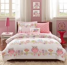 Girls Bed In A Bag by Bed In A Bag Twin Girls Pink Owl Theme Comforter And Sheet Set