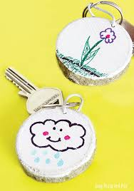 wooden key chain diy wooden key chain easy peasy and