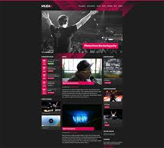 29 best html website templates for bands u0026 musicians web