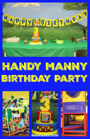 della devoted handy manny birthday party