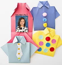 hello wonderful easy origami shirt father u0027s day card