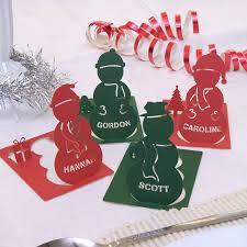 christmas name place cards christmas lights decoration