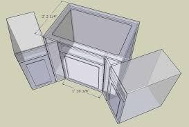 Kitchen Sink Base Cabinet Dimensions - Base kitchen cabinet dimensions